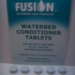 Waterbed Conditioner Tablets Images