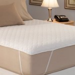 California King Quilted Waterbed Mattress Pad by Restful Nights Photos