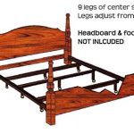 Pictures of Steel Waterbed Frame